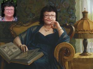 Портрет маме