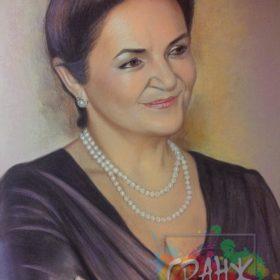 Заказаь портрет пастелью на юбилей в Оренбурге
