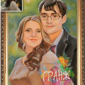 где заказать семейный портрет пастелью в екб