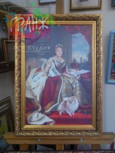 портрет на холсте цена