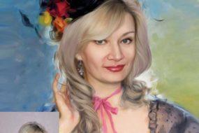 Заказать арт портрет по фото на холсте…