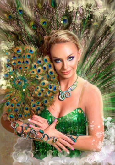 Портрет по фото, подарок на 14 февраля. Заказать в России.