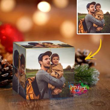 Фотокубик трансформер, купить в подарок